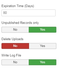 automaticly delete data